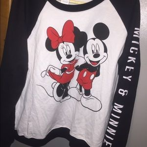 Micky & Minnie mouse shirt